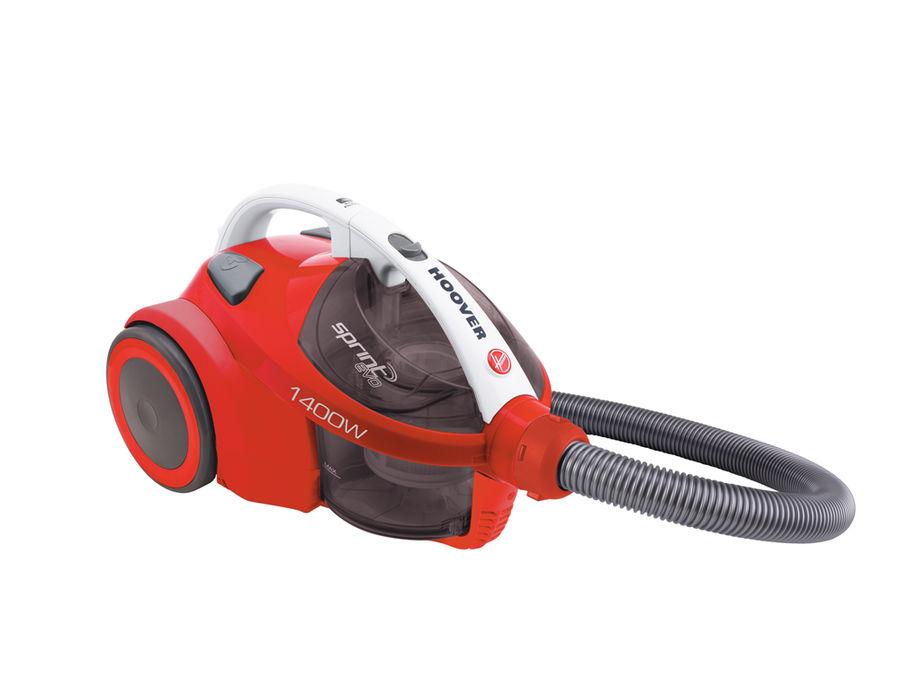 Пылесос HOOVER TSBE1401 019, 1400Вт, красный