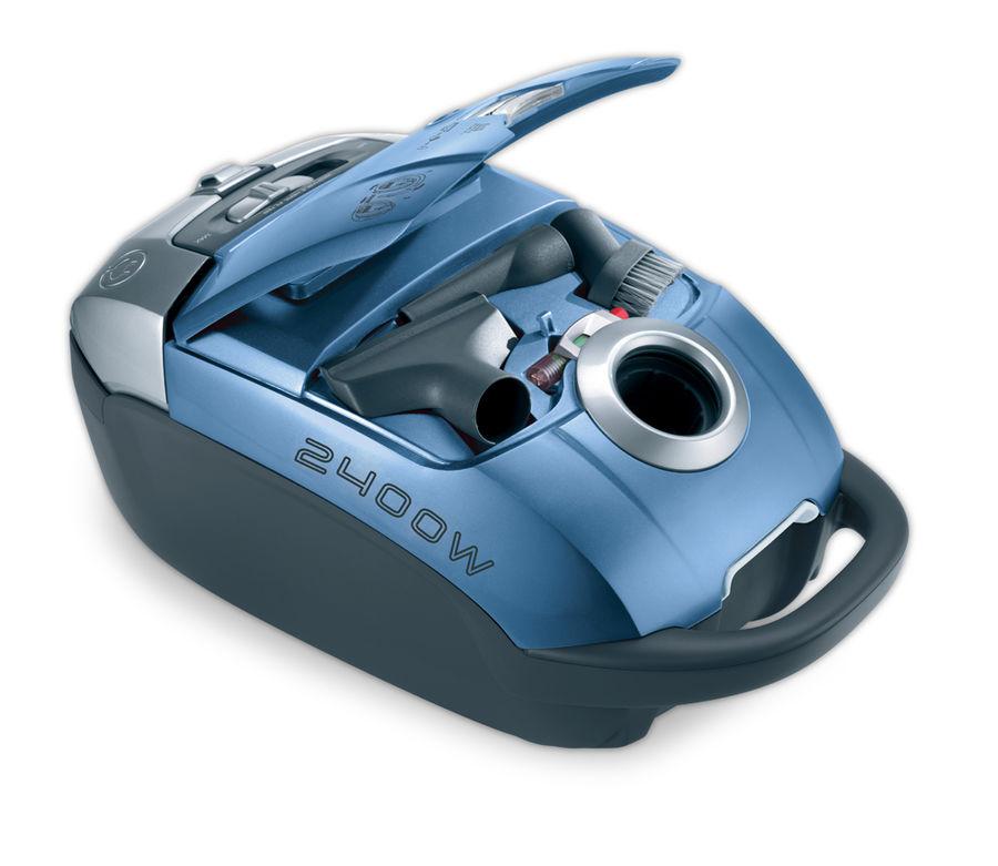 Пылесос HOOVER TAT2421 019, 2400Вт, голубой