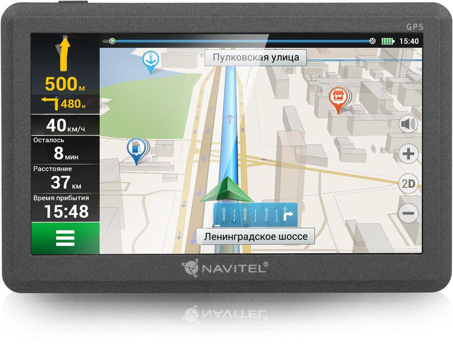 "GPS навигатор NAVITEL C500,  5"",  авто, 4Гб, Navitel,  черный"