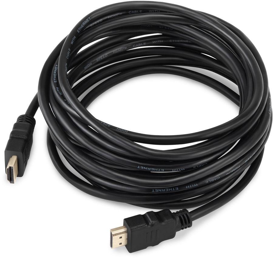 Кабель аудио-видео BURO HDMI (m)  -  HDMI (m) ,  5м, GOLD ф/фильтр,  черный,  блистер [bhp ret hdmi50]