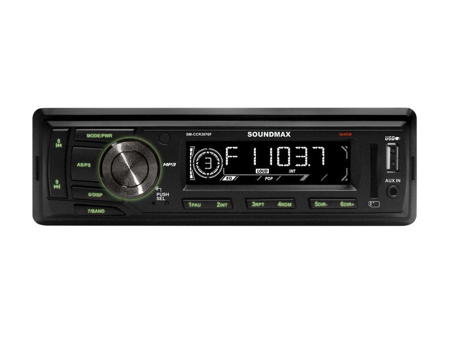 Автомагнитола SOUNDMAX SM-CCR3076F,  USB,  SD/MMC