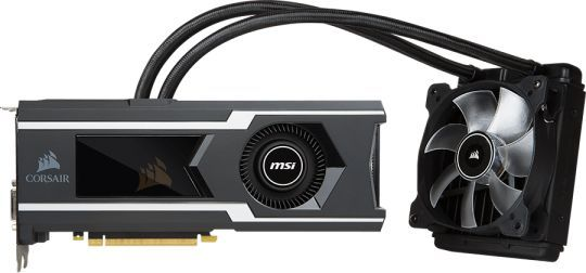 Видеокарта MSI nVidia  GeForce GTX 1080Ti ,  GTX 1080 Ti SEA HAWK,  11Гб, GDDR5X, OC,  Ret