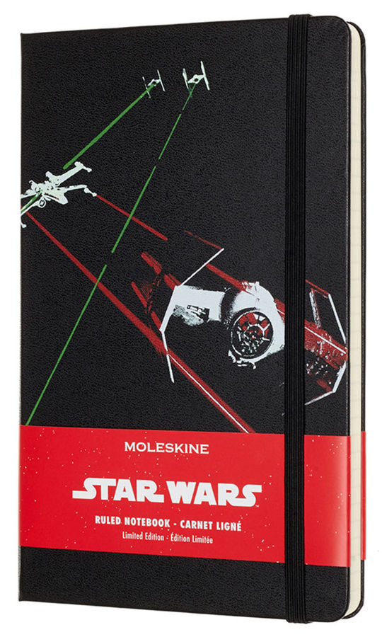 Блокнот Moleskine Limited Edition STAR WARS Large 130х210мм 240стр. линейка черный Ships [leswc01qp060] new mf8 eitan s star icosaix radiolarian puzzle magic cube black and primary limited edition very challenging welcome to buy
