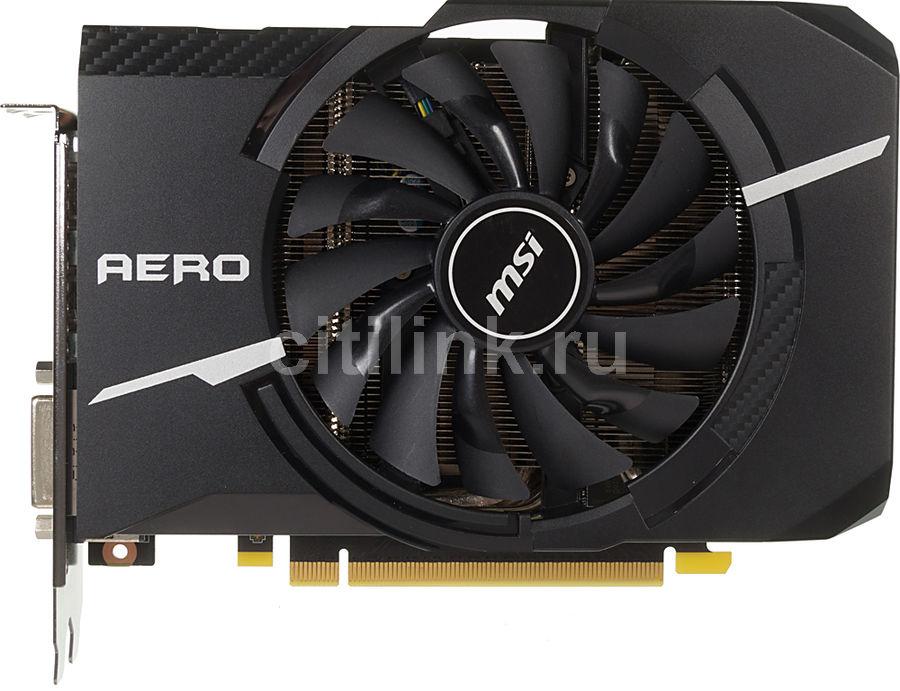 Видеокарта MSI nVidia  GeForce GTX 1070 ,  GeForce GTX 1070 AERO ITX 8G OC,  8Гб, GDDR5, OC,  Ret