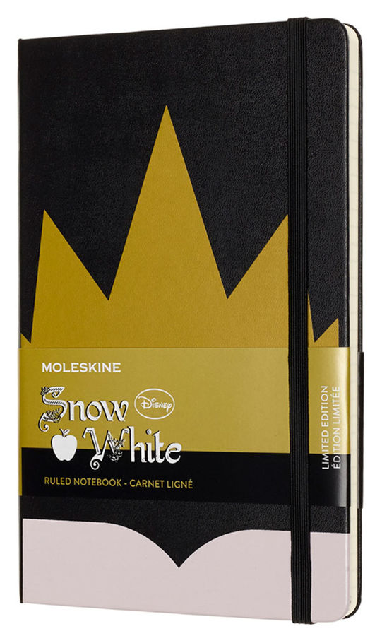 Блокнот Moleskine Limited Edition SNOW WHITE Large 130х210мм 240стр. линейка Crown (Корона)