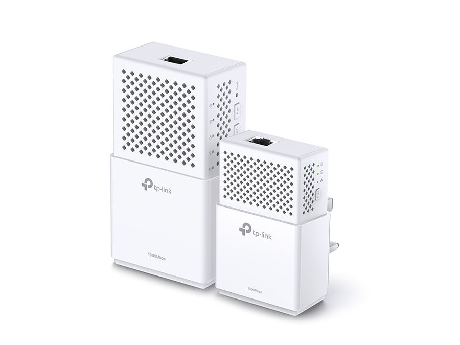 Сетевой адаптер PowerLine TP-LINK TL-WPA7510KIT Ethernet,  2 шт.