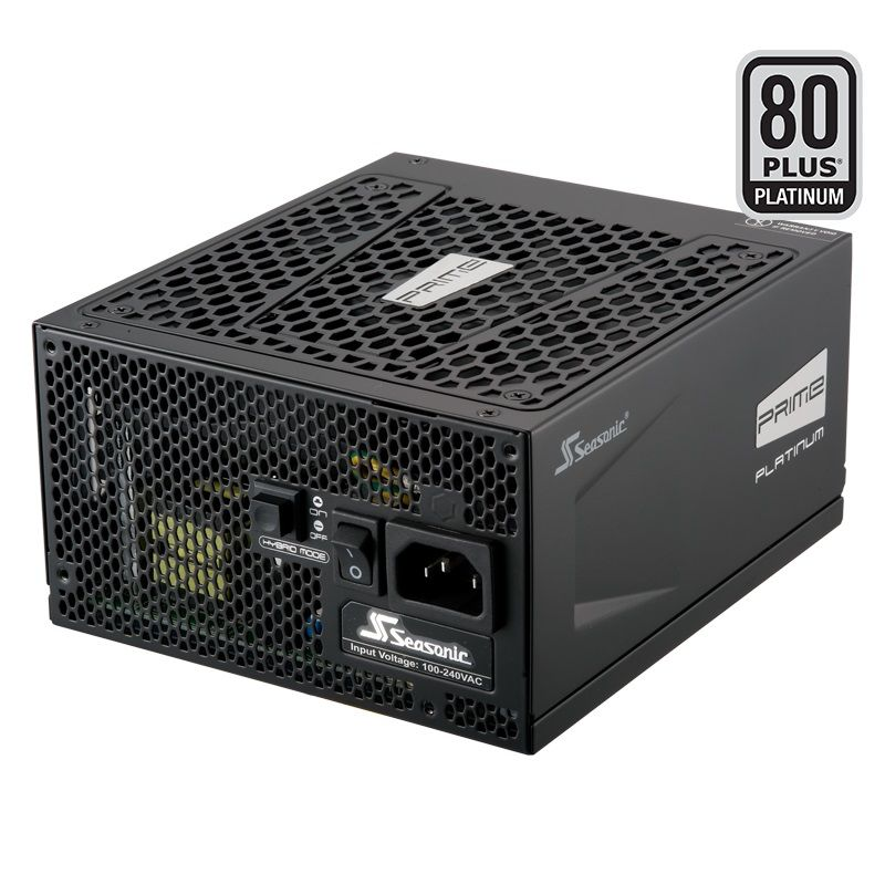 Блок питания SEASONIC PRIME PLATINUM SSR-650PD,  650Вт,  135мм,  черный, retail
