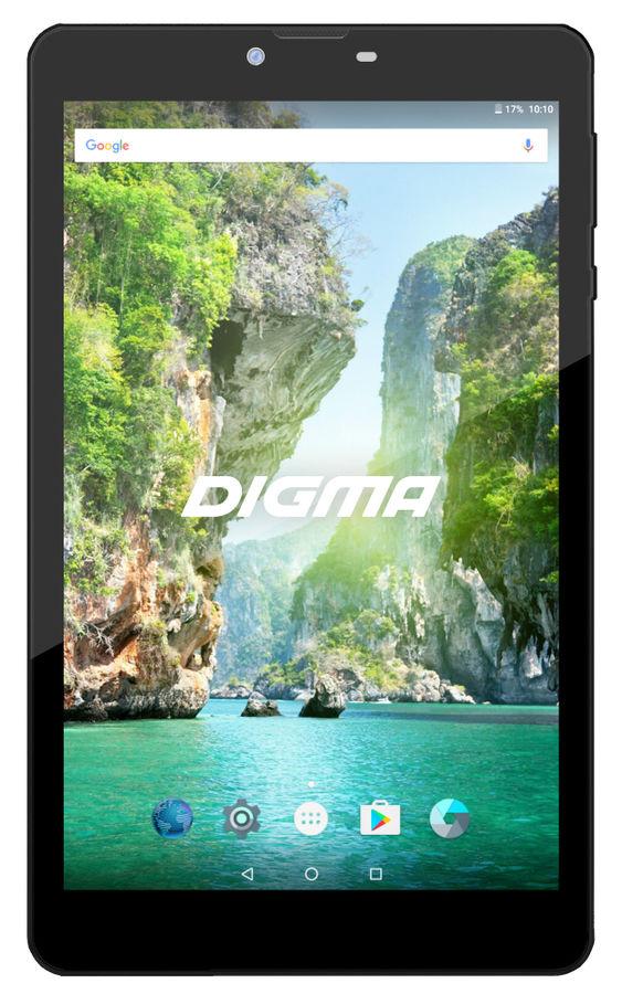 Планшет DIGMA Plane 8733T 3G,  1GB, 16GB, 3G,  Android 6.0 графит [ps8145pg]