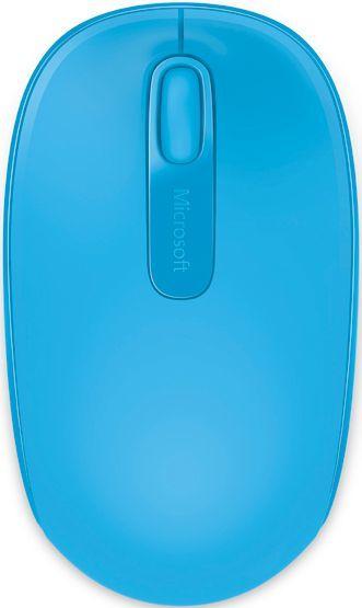 Мышь MICROSOFT Mobile Mouse 1850 оптическая беспроводная USB, бирюзовый [u7z-00058]