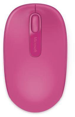 Мышь MICROSOFT Mobile Mouse 1850 оптическая беспроводная USB, розовый [u7z-00065]