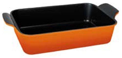 Форма для выпечки Frybest ORCA-4422 Orange прямоуг. 44x22см алюминий/керамика оранжевый