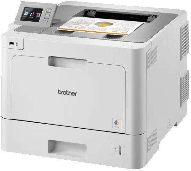 Принтер лазерный BROTHER HL-L9310CDW лазерный, цвет:  белый [hll9310cdwr1]