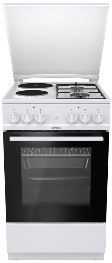 Газовая плита GORENJE K5111WG,  электрическая духовка,  белый