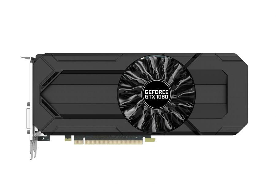 Видеокарта PALIT GeForce GTX 1060,  PA-GTX1060 STORMX 3G,  3Гб, GDDR5, Bulk [ne51060015f9-1061f bulk]