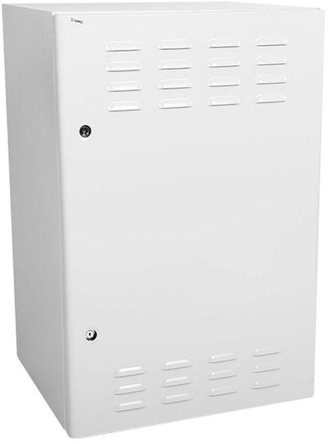Шкаф коммутационный ЦМО (ШТВ-Н-12.6.5-4ААА) 12U 600x500мм пер.дв.металл.перф. несъемн.бок.пан. 150кг