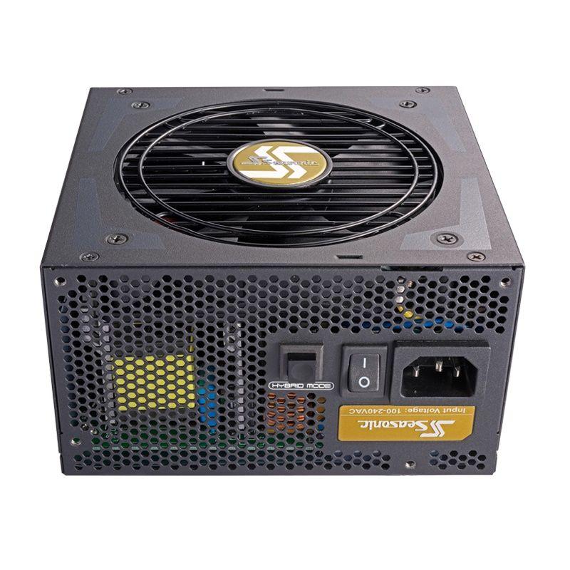 Блок питания SEASONIC FOCUS Plus SSR-650FX,  650Вт,  120мм,  черный, retail
