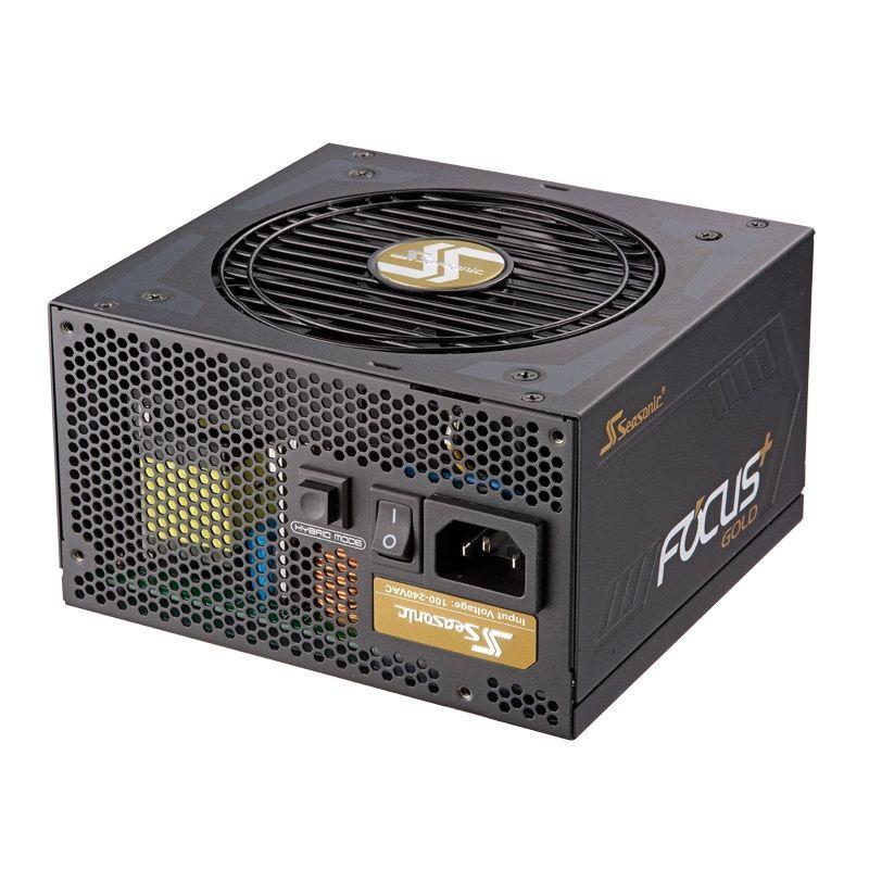 Блок питания SEASONIC FOCUS Plus SSR-850FX,  850Вт,  120мм,  черный, retail