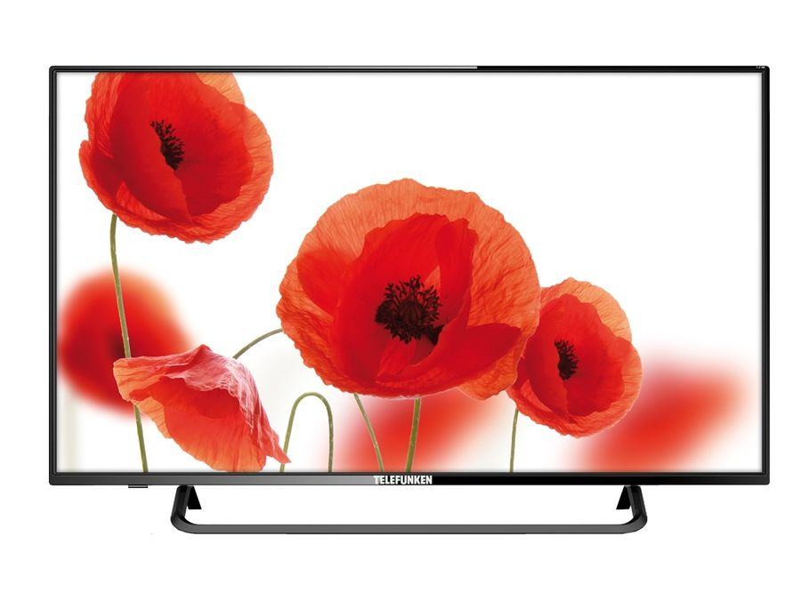 "LED телевизор TELEFUNKEN TF-LED43S59T2  ""R"", 42.5"", FULL HD (1080p),  черный"