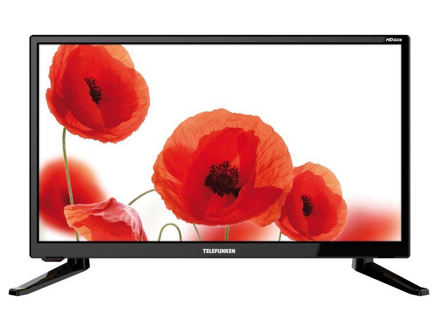 """LED телевизор TELEFUNKEN TF-LED19S64T2  """"R"""", 19"""", HD READY (720p),  черный"""
