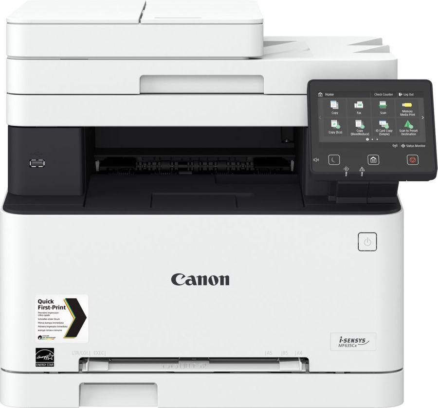 МФУ лазерный CANON i-Sensys Colour MF635Cx,  A4,  цветной,  лазерный,  белый [1475c038]