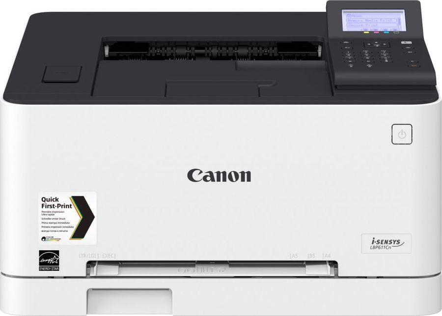Принтер лазерный CANON i-Sensys Colour LBP611Cn лазерный, цвет:  белый [1477c010]
