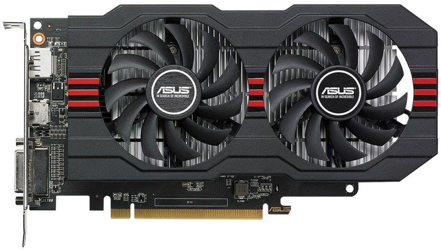 Видеокарта ASUS AMD  Radeon RX 560  (16CU),  RX560-4G,  4Гб, GDDR5, Ret