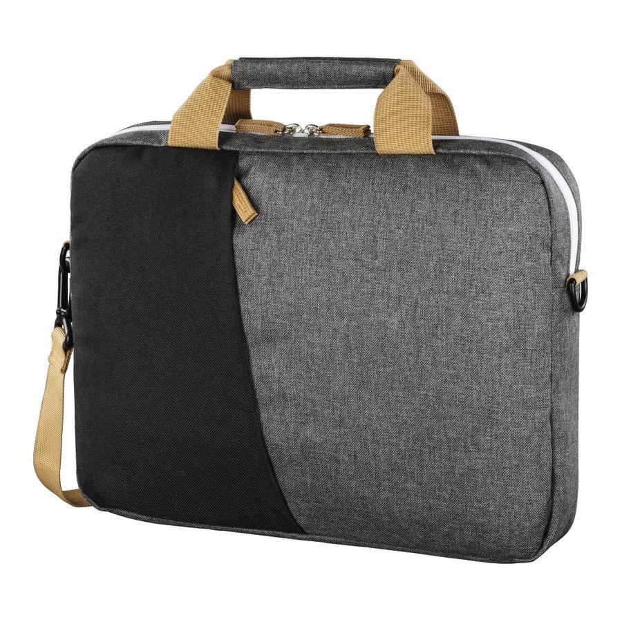 """Сумка для ноутбука 15.6"""" HAMA Florence, черный/серый [00101568]"""