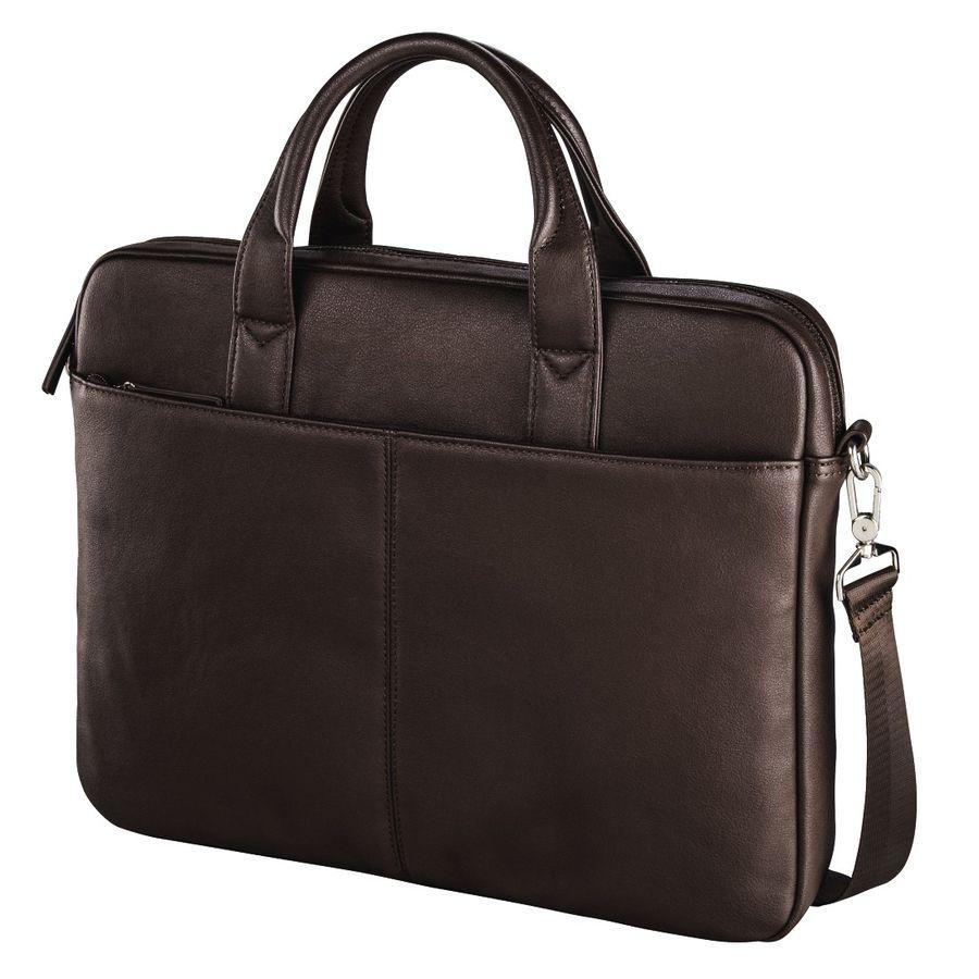 """Сумка для ноутбука 15.6"""" HAMA Santorin, коричневый [00101563]"""