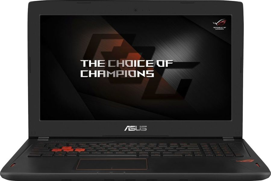 Ноутбук ASUS GL502VS-FI399T, 15.6, Intel Core i7 7700HQ, 2.8ГГц, 32Гб, 1000Гб, 256Гб SSD, nVidia GeForce GTX 1070 - 8192 Мб, Windows 10, черный [90nb0dd1-m05600]Ноутбуки<br>экран: 15.6;  разрешение экрана: 3840х2160; процессор: Intel Core i7 7700HQ; частота: 2.8 ГГц (3.8 ГГц, в режиме Turbo); память: 32768 Мб, DDR4, 2400 МГц; HDD: 1000 Гб, 7200 об/мин; SSD: 256 Гб; nVidia GeForce GTX 1070 - 8192 Мб; WiFi;  Bluetooth; HDMI; WEB-камера; Windows 10<br>