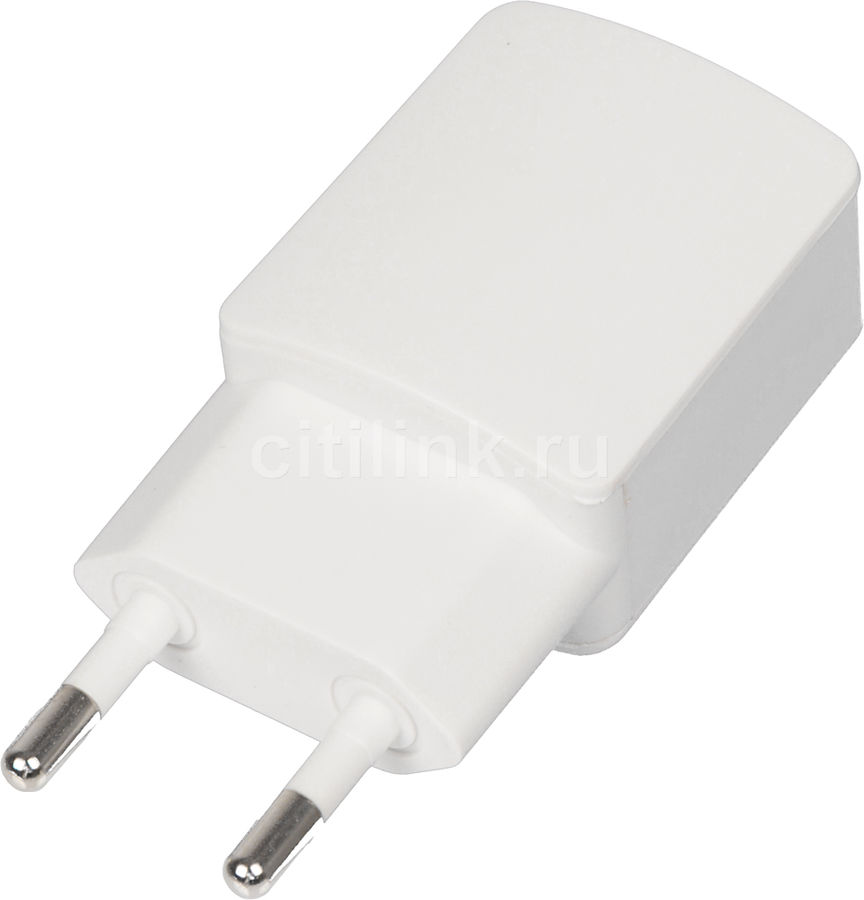 Сетевое зарядное устройство GINZZU GA-3003W,  USB,  1.2A,  белый