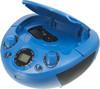 Аудиомагнитола HYUNDAI H-PCD220,  синий вид 2