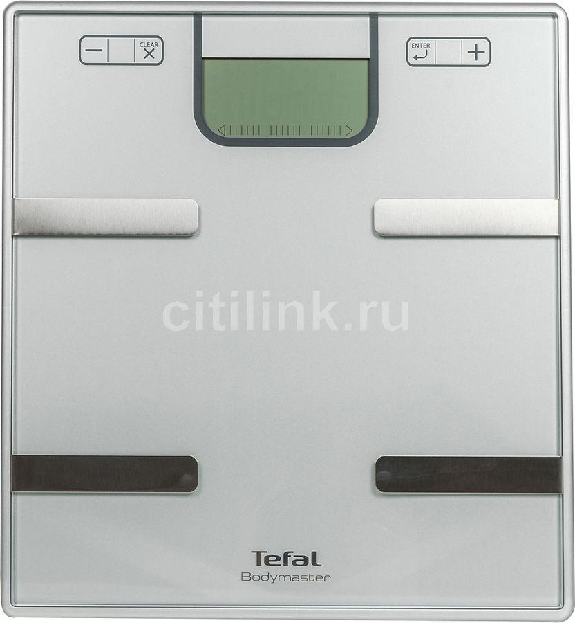 Напольные весы TEFAL BM6010V0, до 160кг, цвет: серебристый [2100099842]