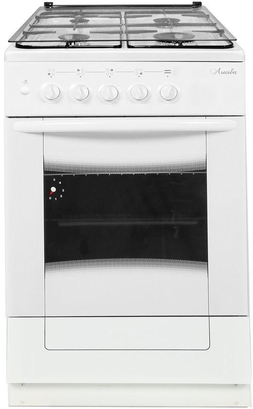Газовая плита ЛЫСЬВА ГП 400 М2С-2у,  газовая духовка,  белый