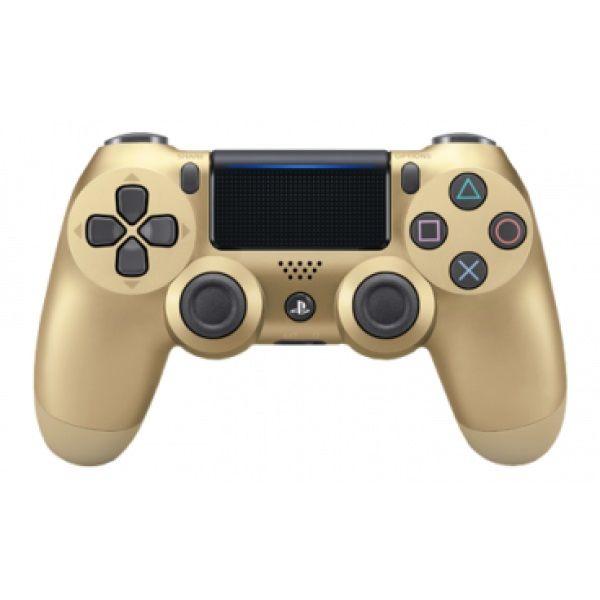 Беспроводной контроллер SONY Dualshock 4 v2 (CUH-ZCT2E), для  PlayStation 4, золотистый [ps719895558]