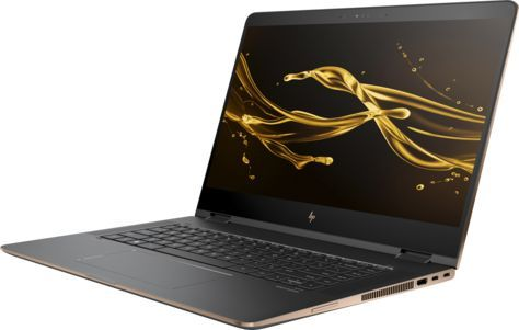 Ноутбук-трансформер HP Spectre x360 15-bl001ur, 15.6, Intel Core i7 7500U 2.7ГГц, 16Гб, 1000Гб SSD, nVidia GeForce GT 940MX - 2048 Мб, Windows 10, 2EN46EA, темно-серебристыйНоутбуки<br>экран: 15.6; cенсорный экран; разрешение экрана: 3840х2160; тип матрицы: IPS; процессор: Intel Core i7 7500U; частота: 2.7 ГГц (3.5 ГГц, в режиме Turbo); память: 16384 Мб, DDR4; SSD: 1000 Гб; nVidia GeForce GT 940MX - 2048 Мб; WiFi;  Bluetooth; HDMI; WEB-камера; Windows 10<br><br>Линейка: Spectre x360