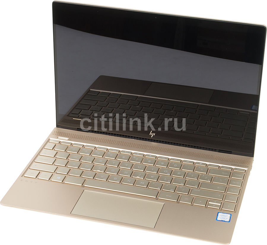 Ноутбук HP Envy 13-ad009ur, 13.3, Intel Core i3 7100U 2.4ГГц, 4Гб, 256Гб SSD, Intel HD Graphics 610, Windows 10, 1WS55EA, золотистый new intel core i3 7100u i5 7200u fanless intel skylake mini pc intel hd graphics 620 4k hdmi vga usb3 0 sd card desktop computer