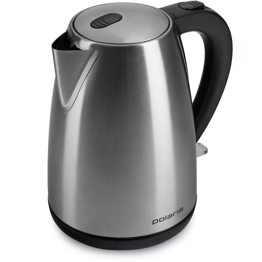 Чайник электрический POLARIS PWK 1707CA, 2200Вт, серебристый матовый