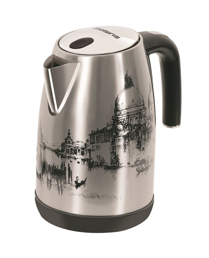 Чайник электрический POLARIS PWK 1891CA Italy, 2200Вт, рисунок