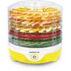 Сушилка для овощей и фруктов POLARIS PFD 2405D,  желтый,  5 поддонов вид 1