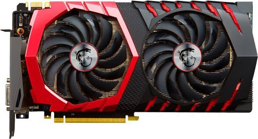 Видеокарта MSI nVidia  GeForce GTX 1080 ,  GeForce GTX 1080 GAMING 8G,  8Гб, GDDR5X, OC,  Ret