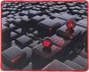 Коврик для мыши OKLICK OK-F0282 рисунок/матрица вид 1