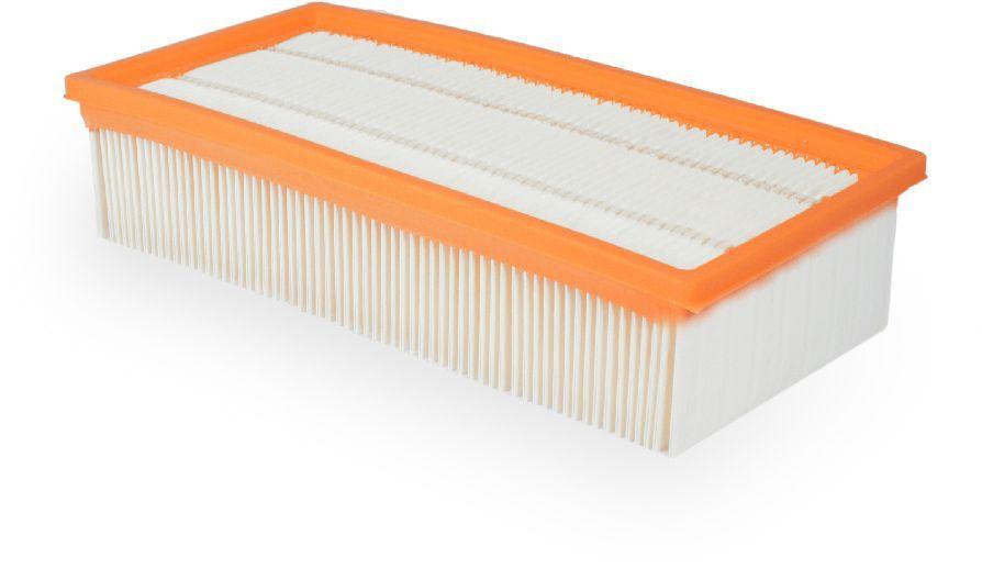 Фильтр FILTERO FP 111 PET Pro,  1 шт., для пылесосов Bosch, Karcher,  фильтр складчатый из полиэстера