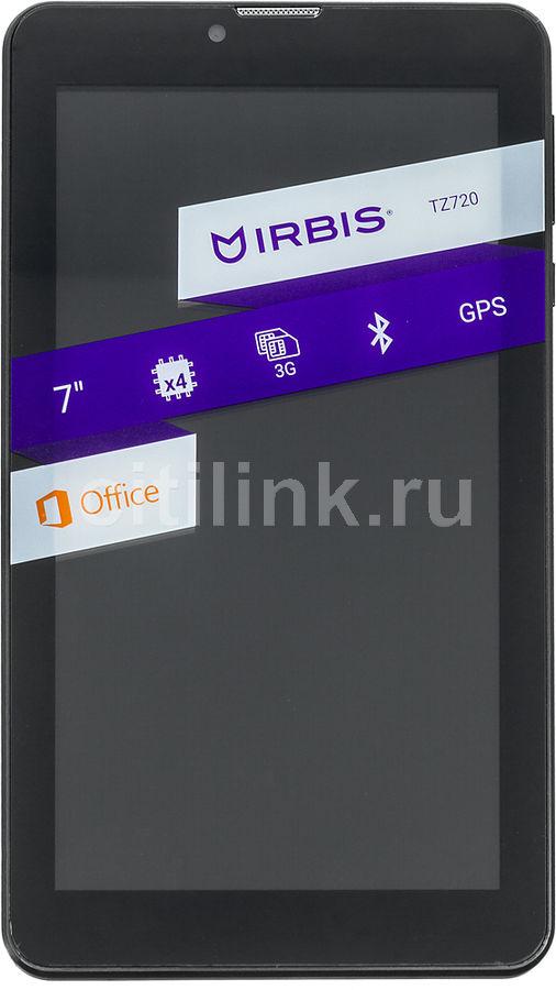 Планшет IRBIS TZ720,  1GB, 8GB, 3G,  Android 6.0 черный