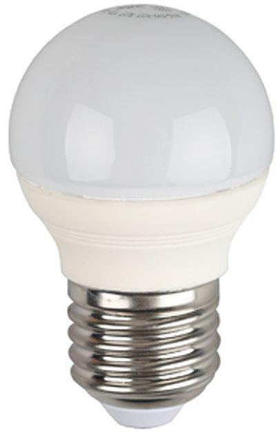 Лампа ЭРА P45-7w-827-E27, 7Вт, 600lm, 30000ч,  2700К, E27,  10 шт. [б0020550]