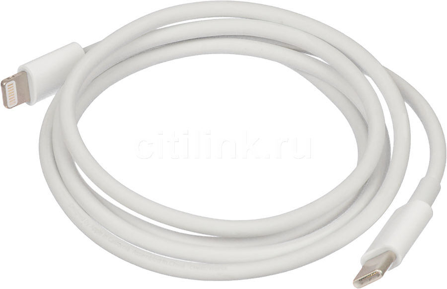 Кабель APPLE MQGJ2ZM/A,  Lightning (m),  USB Type-C (m),  1м,  MFI,  белый