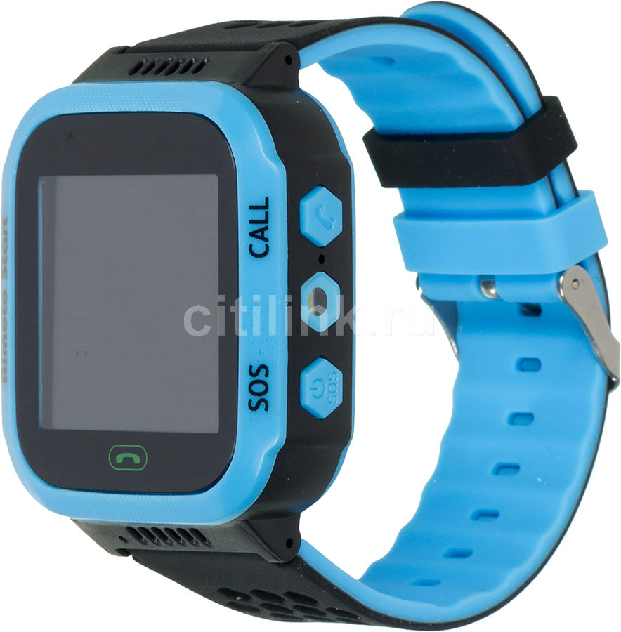 "Смарт-часы КНОПКА ЖИЗНИ Aimoto Start,  1.44"",  синий / синий [9900102]"