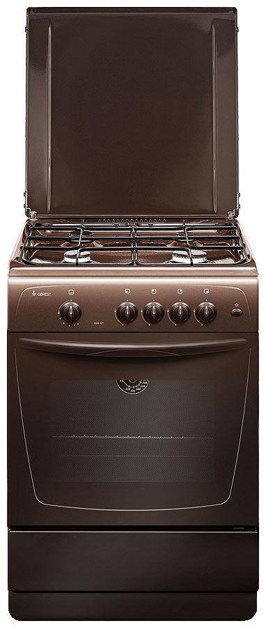 Газовая плита GEFEST ПГ 1200 С7 К43,  газовая духовка,  коричневый [пг 1200-с7 к43]