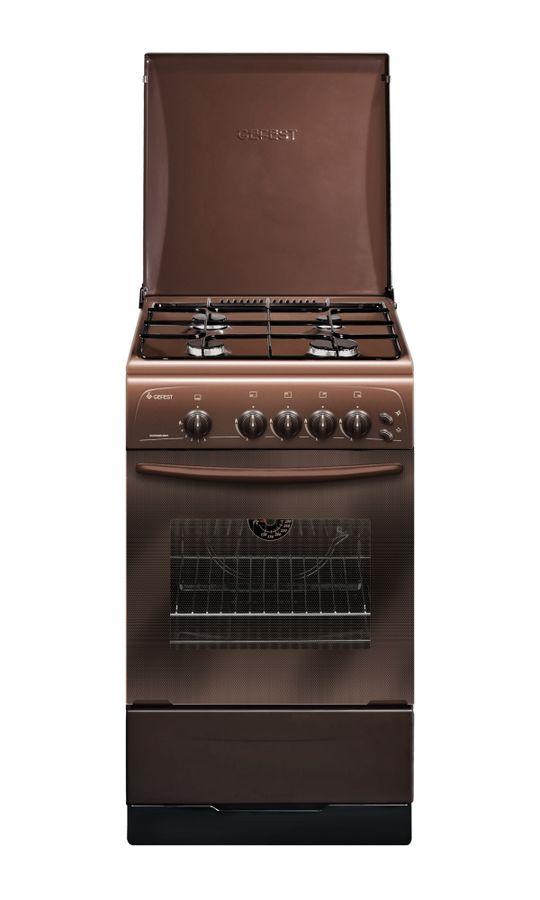 Газовая плита GEFEST ПГ 3200-06 К43,  газовая духовка,  коричневый