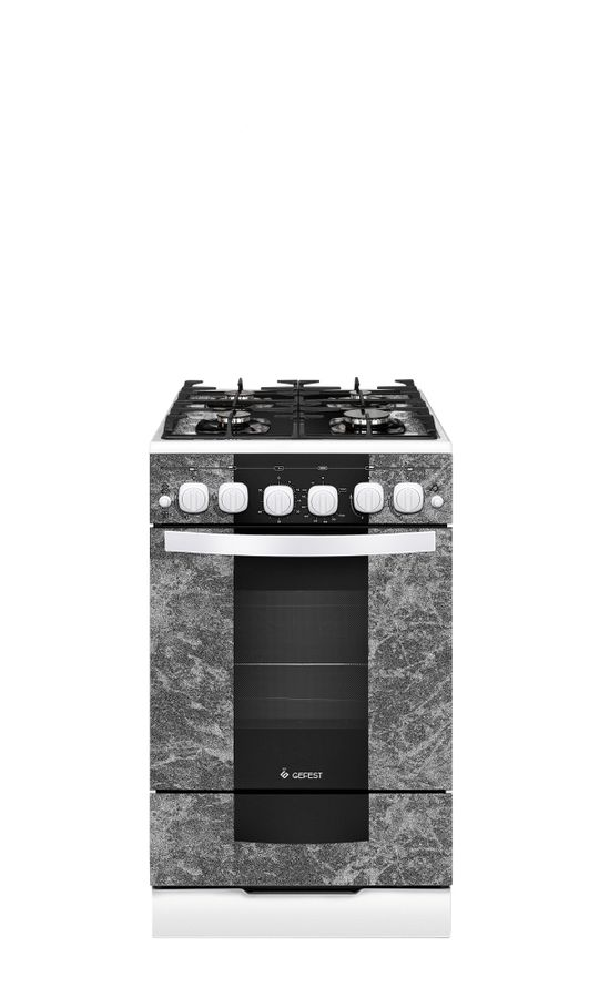 Газовая плита GEFEST ПГ 5500-02 0113,  газовая духовка,  мрамор