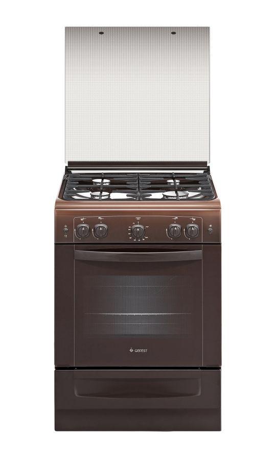 Газовая плита GEFEST ПГ 6100-02 0012,  газовая духовка,  коричневый